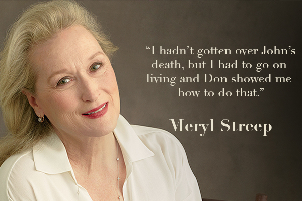 Meryl Streep Quote on Love