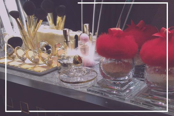 perfume bottles in paris