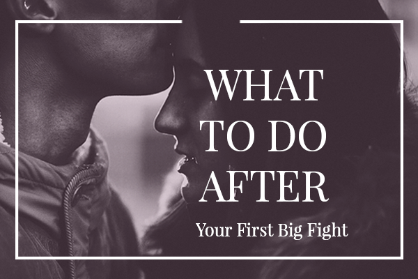 What To Do After Your First Big Fight