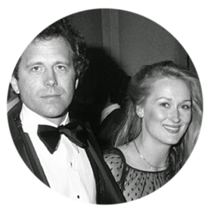Meryl Streep and Don Gummer