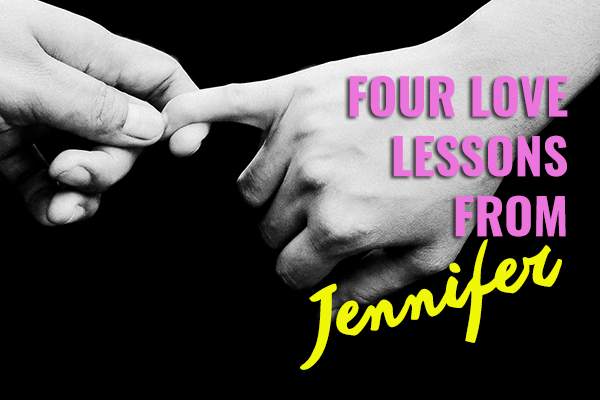 Four Love Lessons from Jennifer Aniston